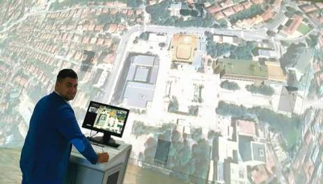 Виж площада на Благоевград