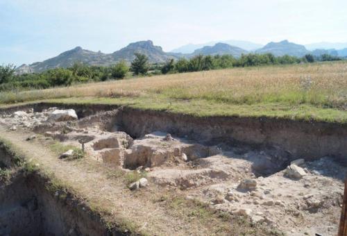 (снимки) Летен университет за археолози в Илинденци
