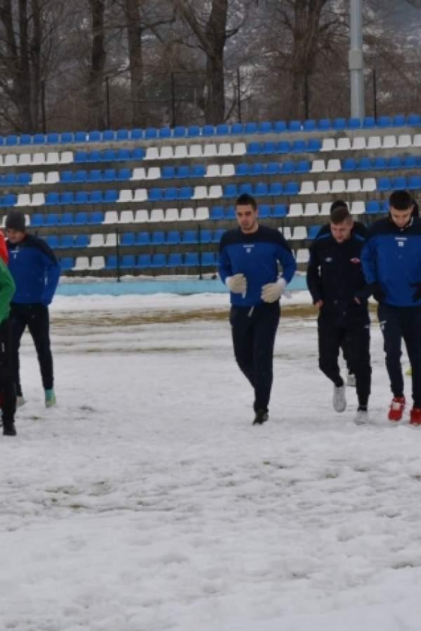 (снимки) Със 17 футболисти Септември на първа тренировка