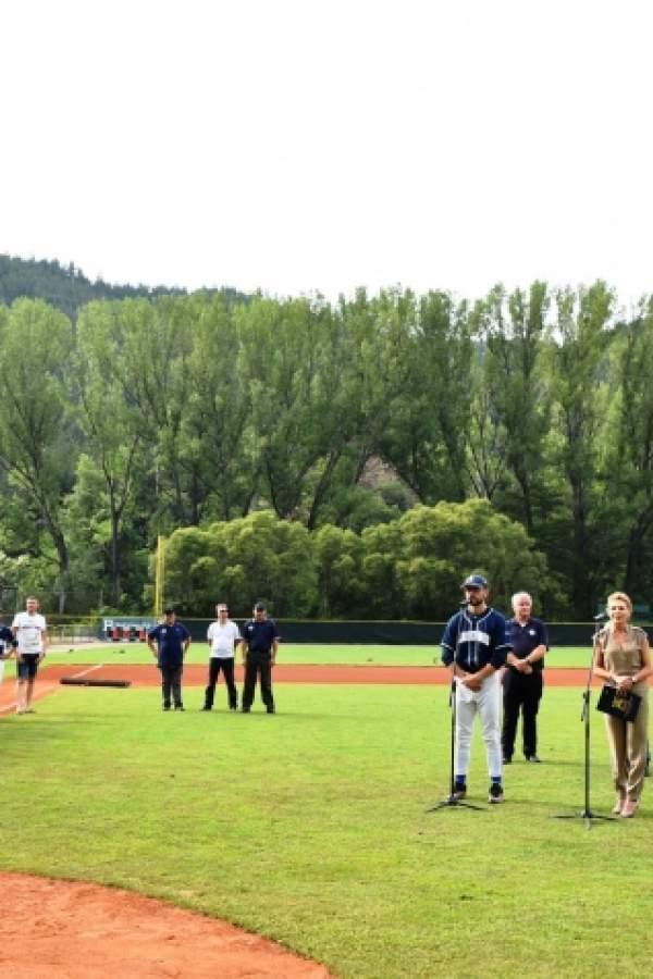 Зам. –кмет откри Европейска шампионска лига  по бейзбол