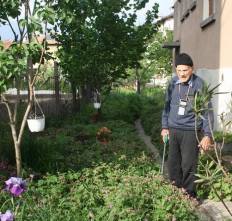 92-год. доктор превърна градината си в билкова аптека