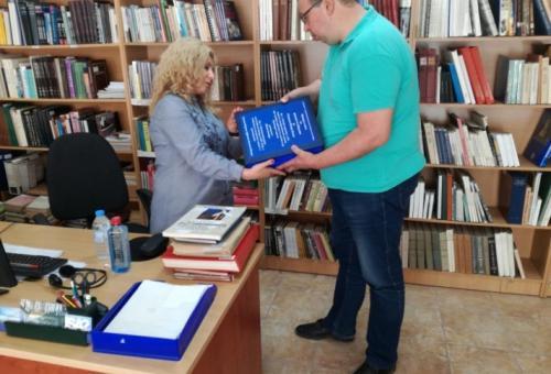 Уникално нотно издание от школата на Петър Дънов в библиотеката  на ЮЗУ