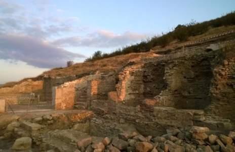 Сложиха точка на археологическите разкопки на Хераклея Синтика