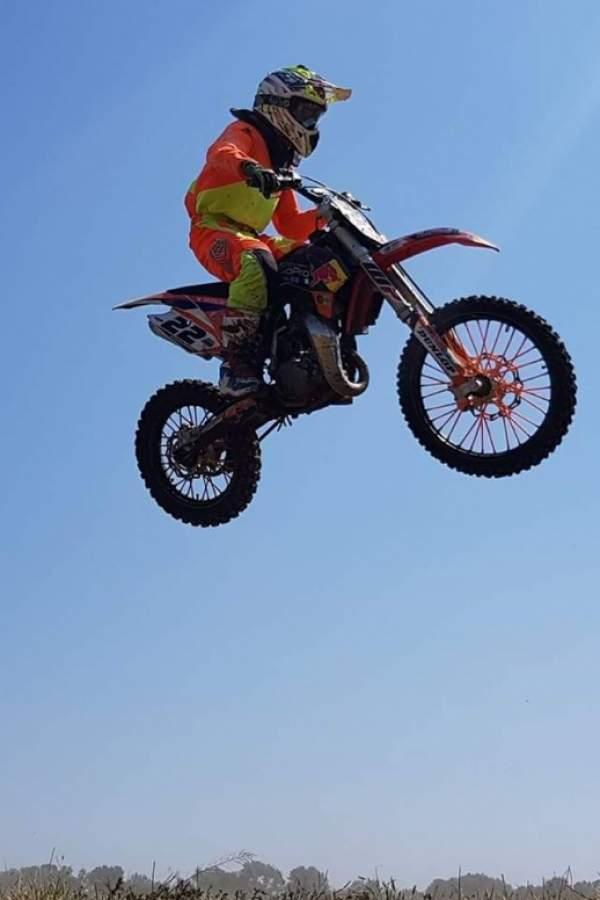 Ново първо място за младия мотокросист от Симитли
