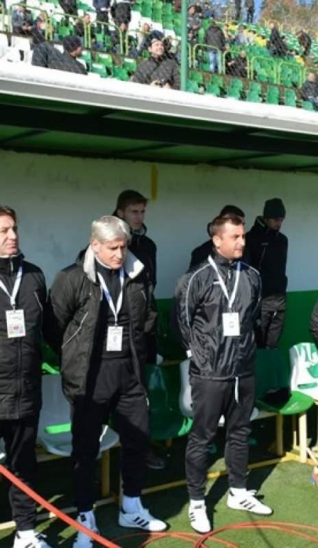 Треньор и футболисти на Пирин с приповдигнат дух преди мача с ЦСКА