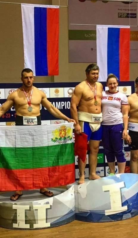 Сумист от Симитлийско - втори на Европейско първенство в Грузия