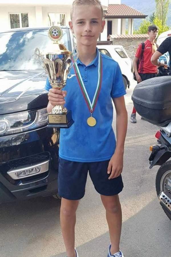 Първото момче от Белица носител на Купата на България