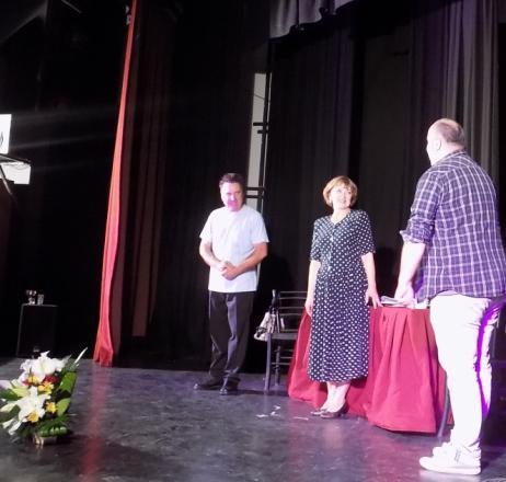 """,,Жената и мъжете""""  разсмя до сълзи препълнената зала на театър ,,Проф. Енчо Халачев"""""""