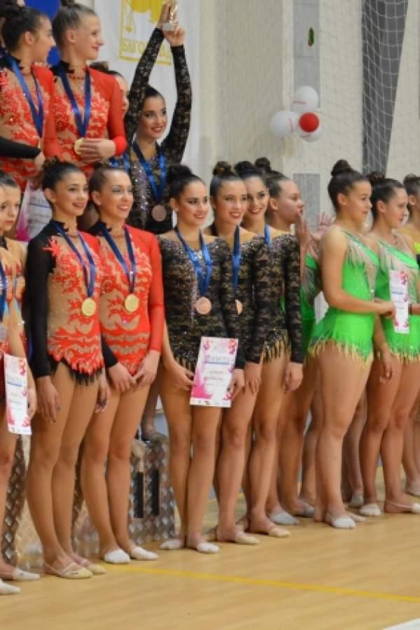 (снимки) Кои са големите финалисти по художествена гимнастика?