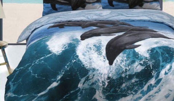 Спалното бельо с 3D ефект - чудесна възможност да преобразите интериора на спалнята